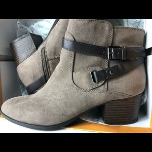 UNISA Gray Ankle Bootie